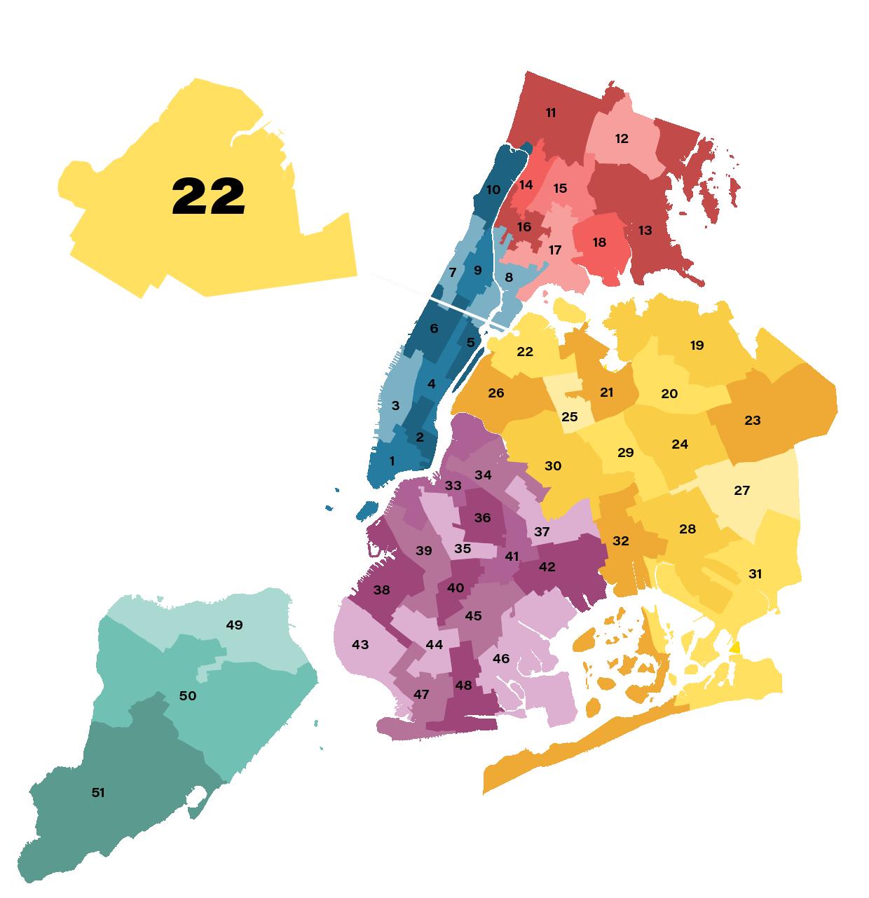 City Council District 22