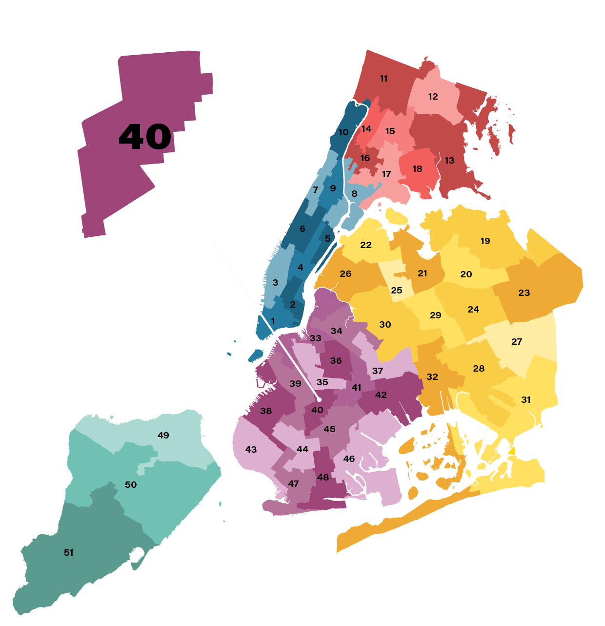 City Council District 40
