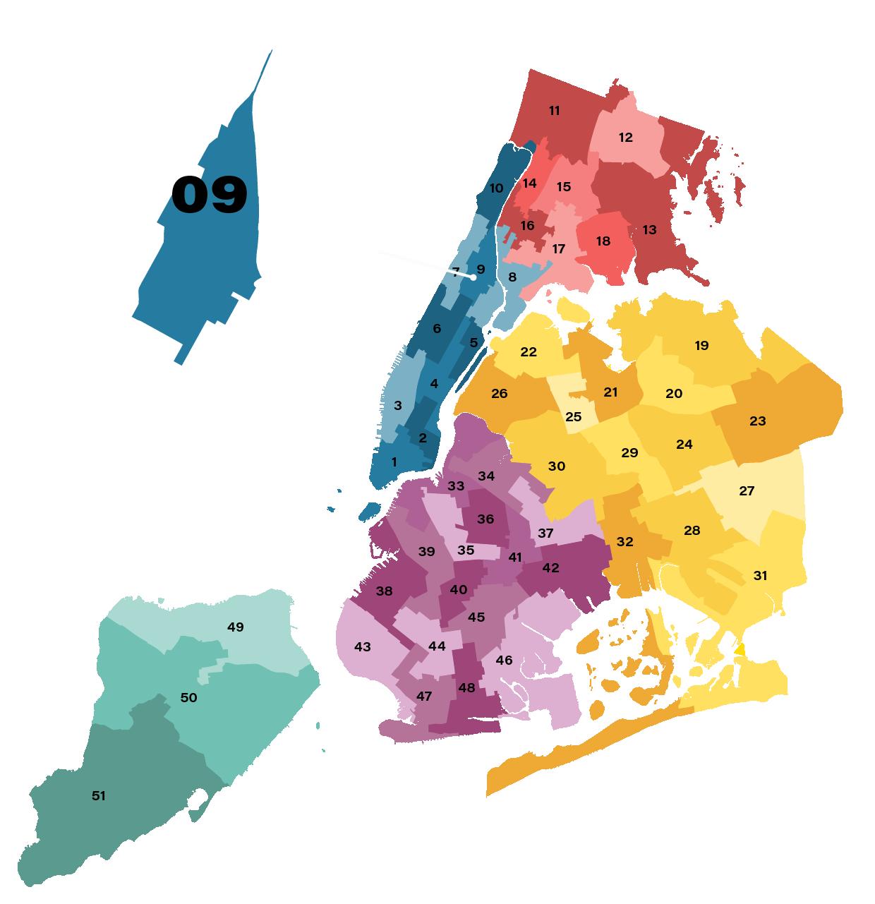 City Council District 9 Map