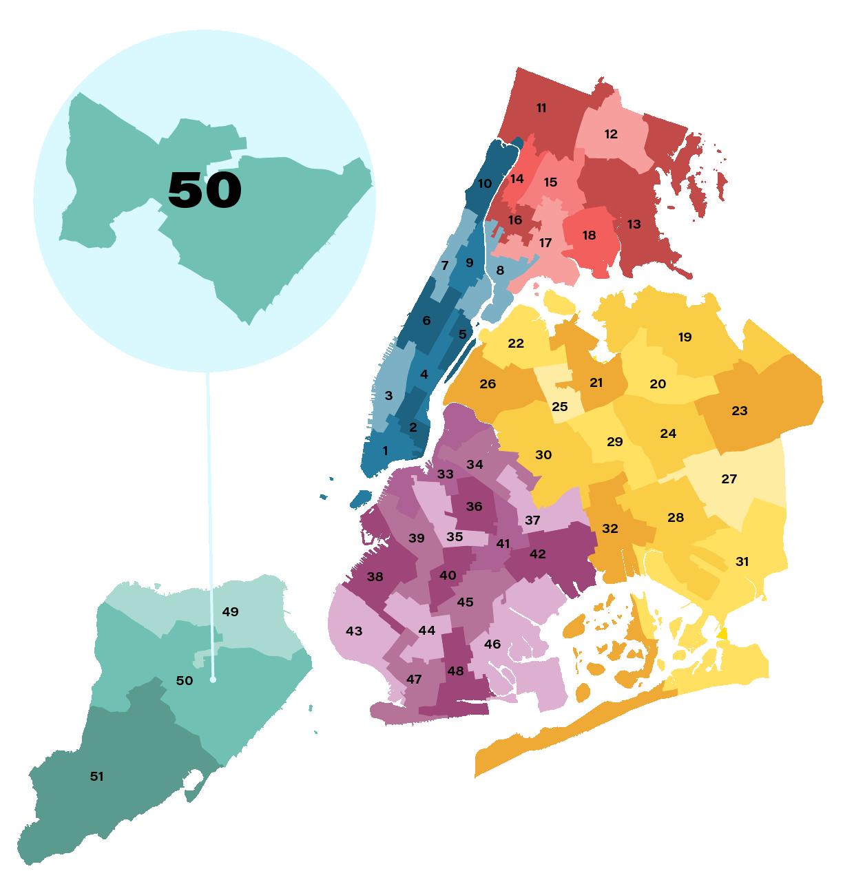 City Council District 50