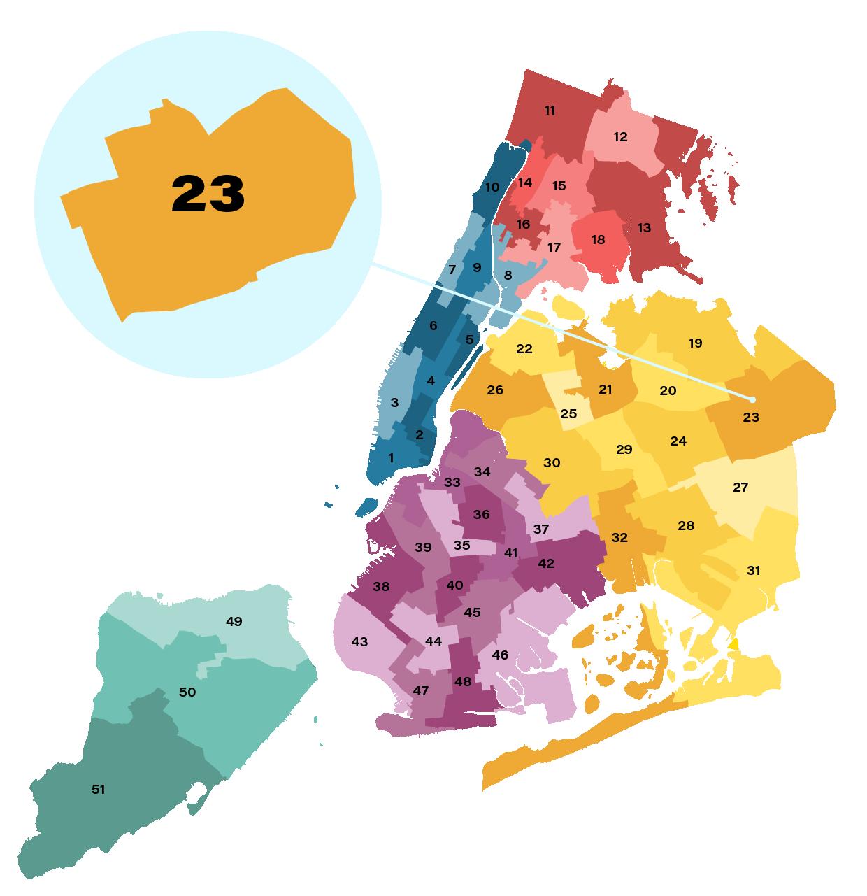 City Council District 23