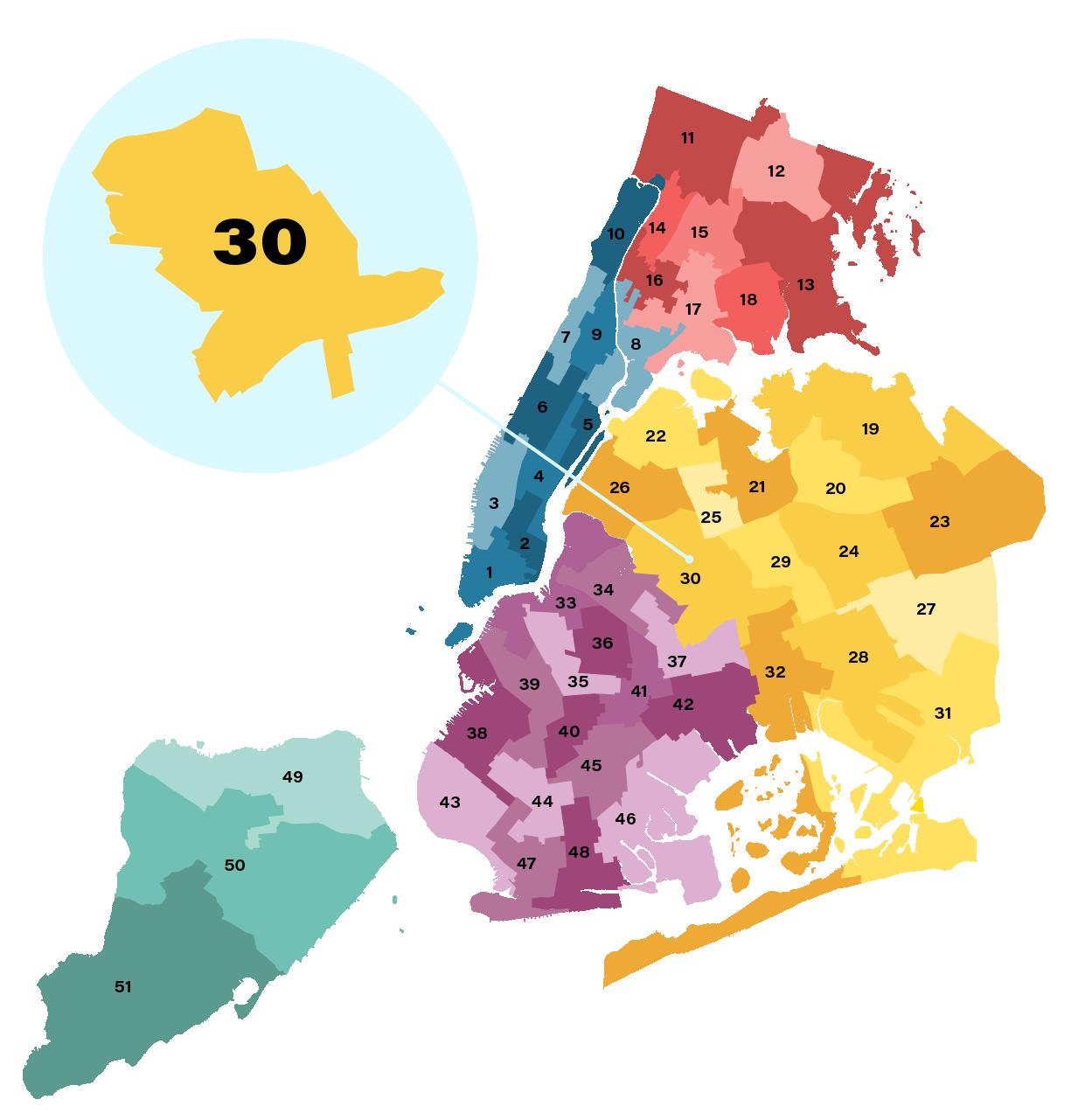 City Council District 30