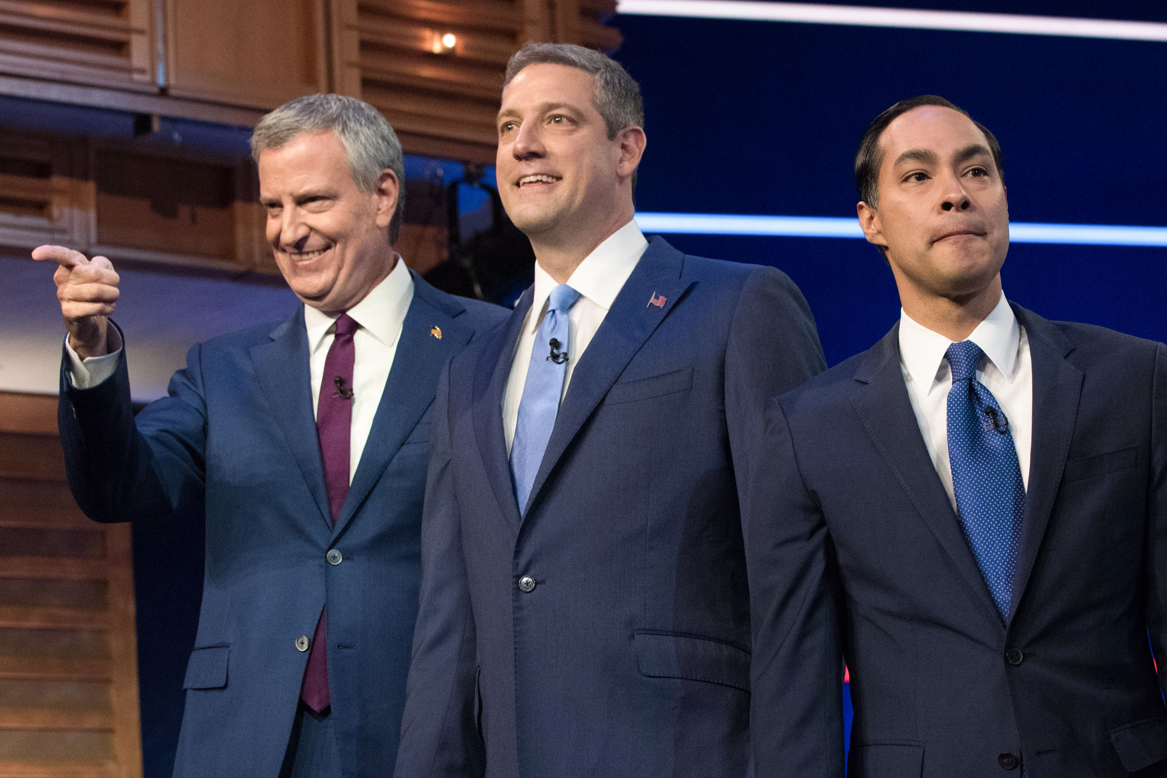 Bill de Blasio, Tim Ryan and Julian Castro were among 10 to face off during the first presidential debate Wednesday!