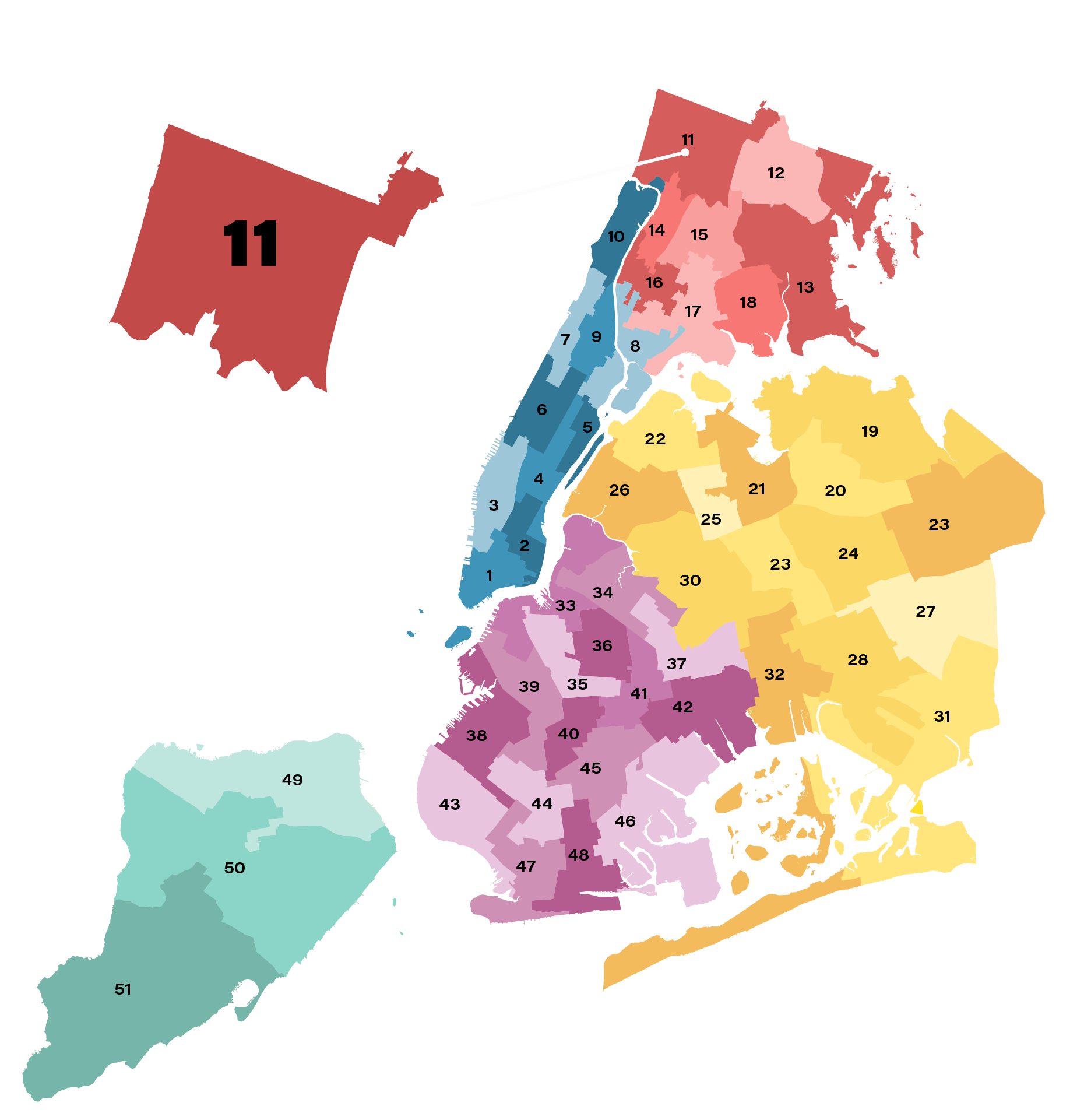 District 11 Map