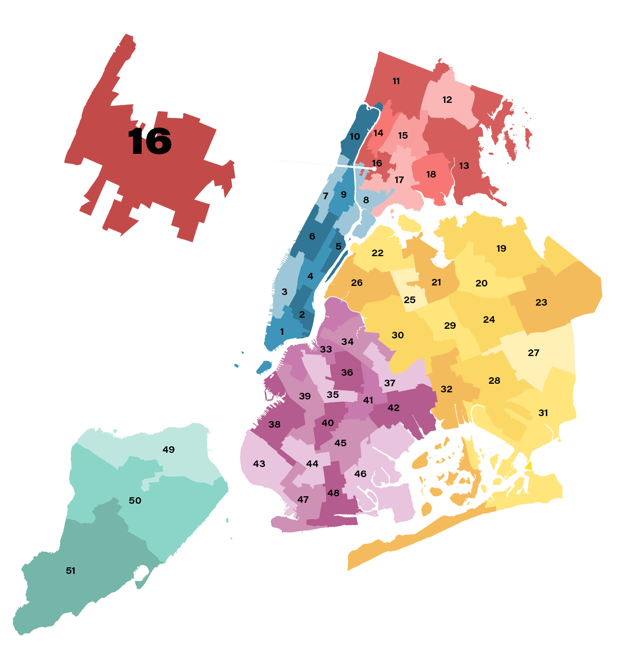 City Council District 16