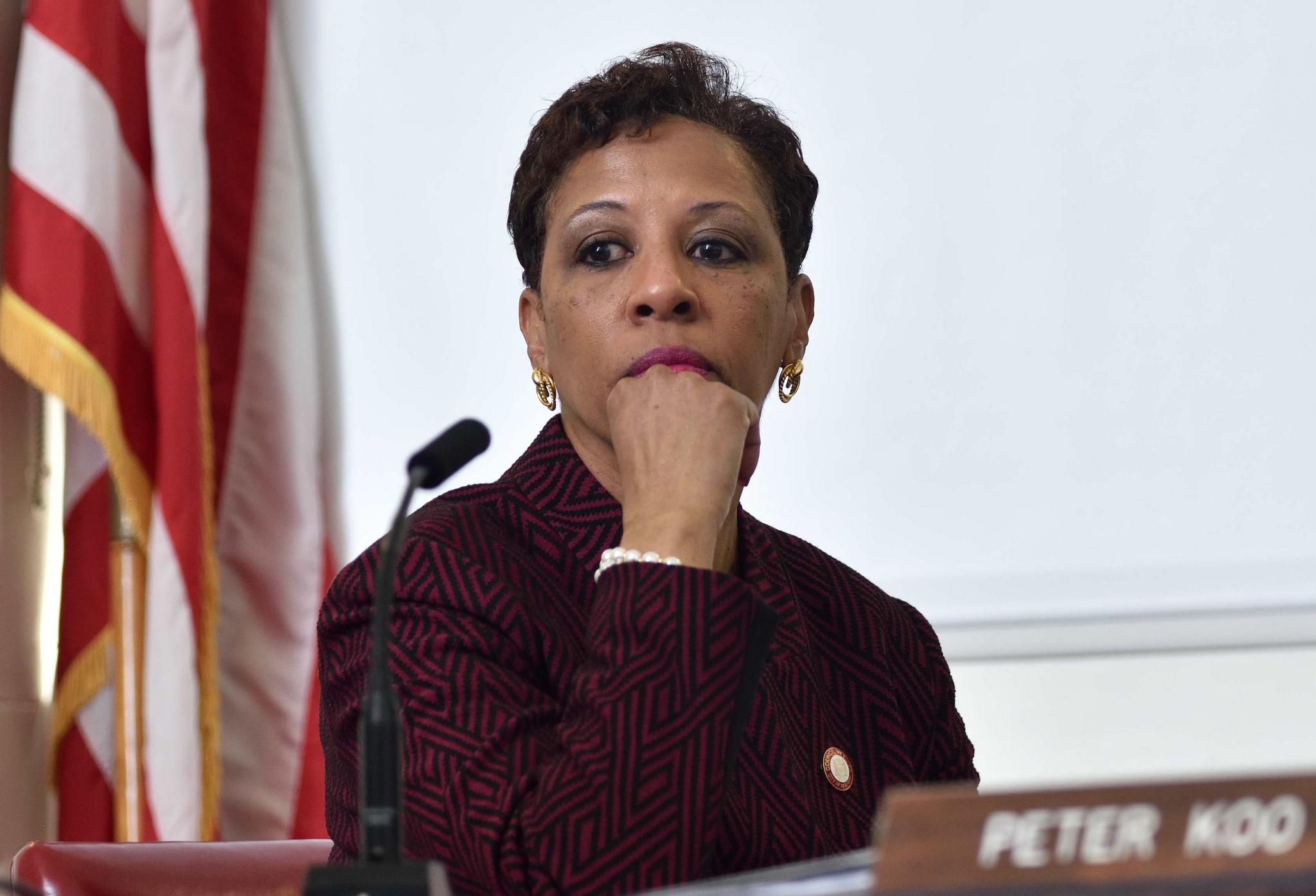City Councilwoman Adrienne Adams.