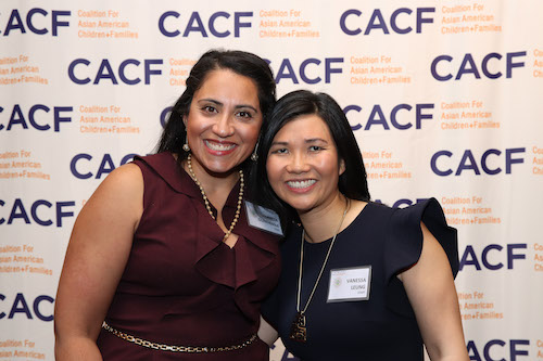 Anita Gudanna and Vanessa Leung