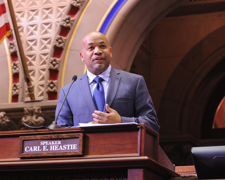Assembly Speaker, Carl Heastie