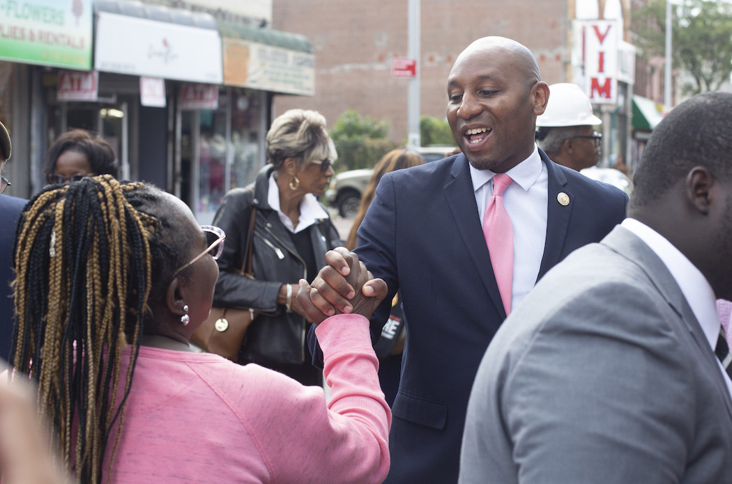 Council Member and likely new Queens Borough President Donovan Richards.