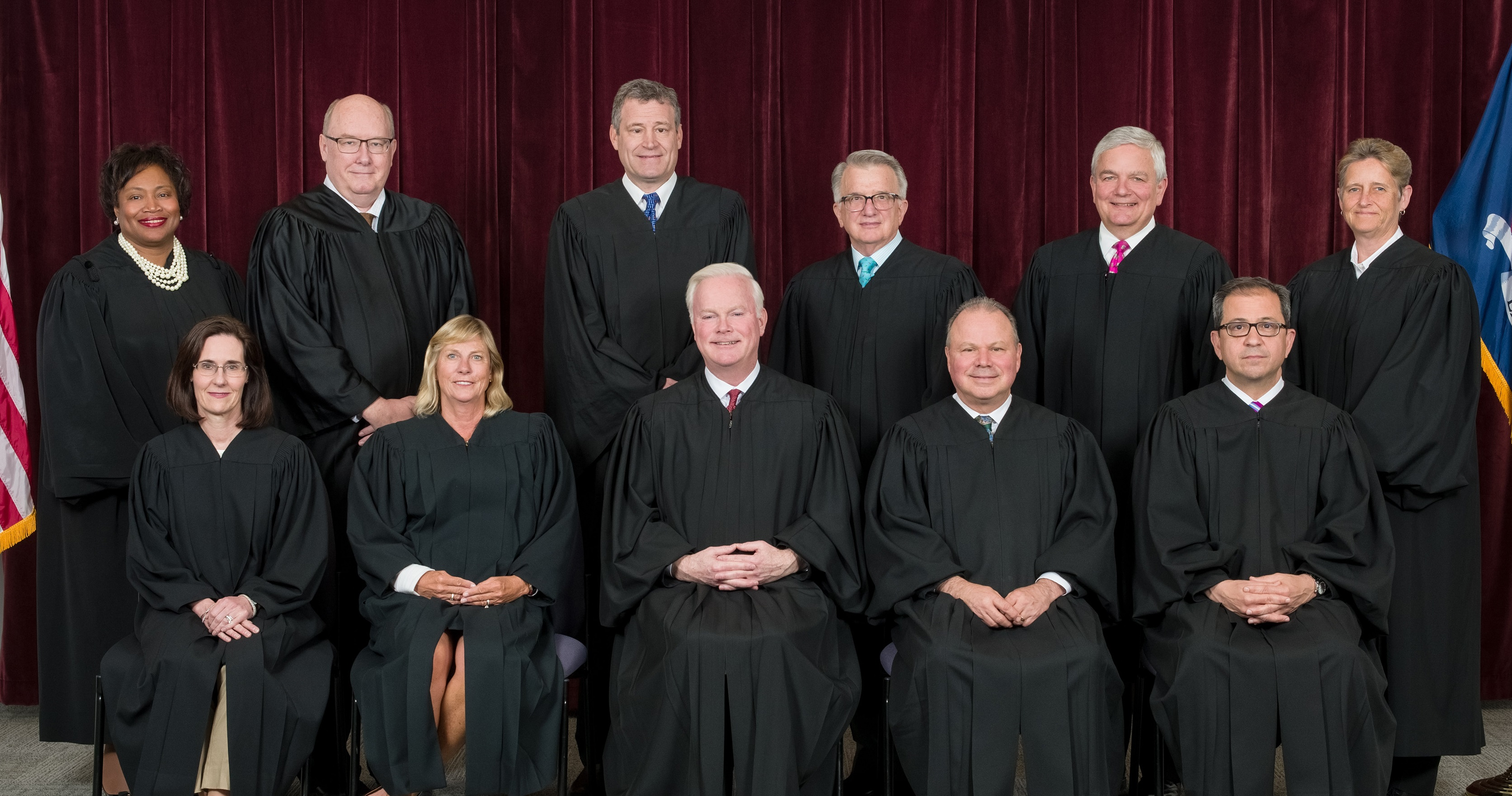 The judges of the Appellate Division's fourth judicial department