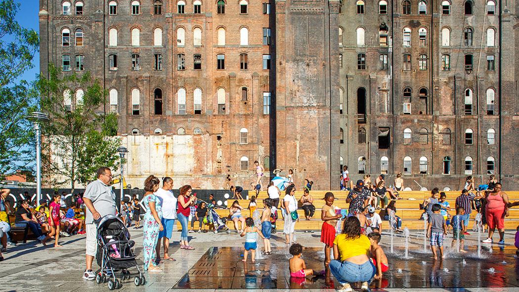 A Balancing Act In Brooklyn City State Ny