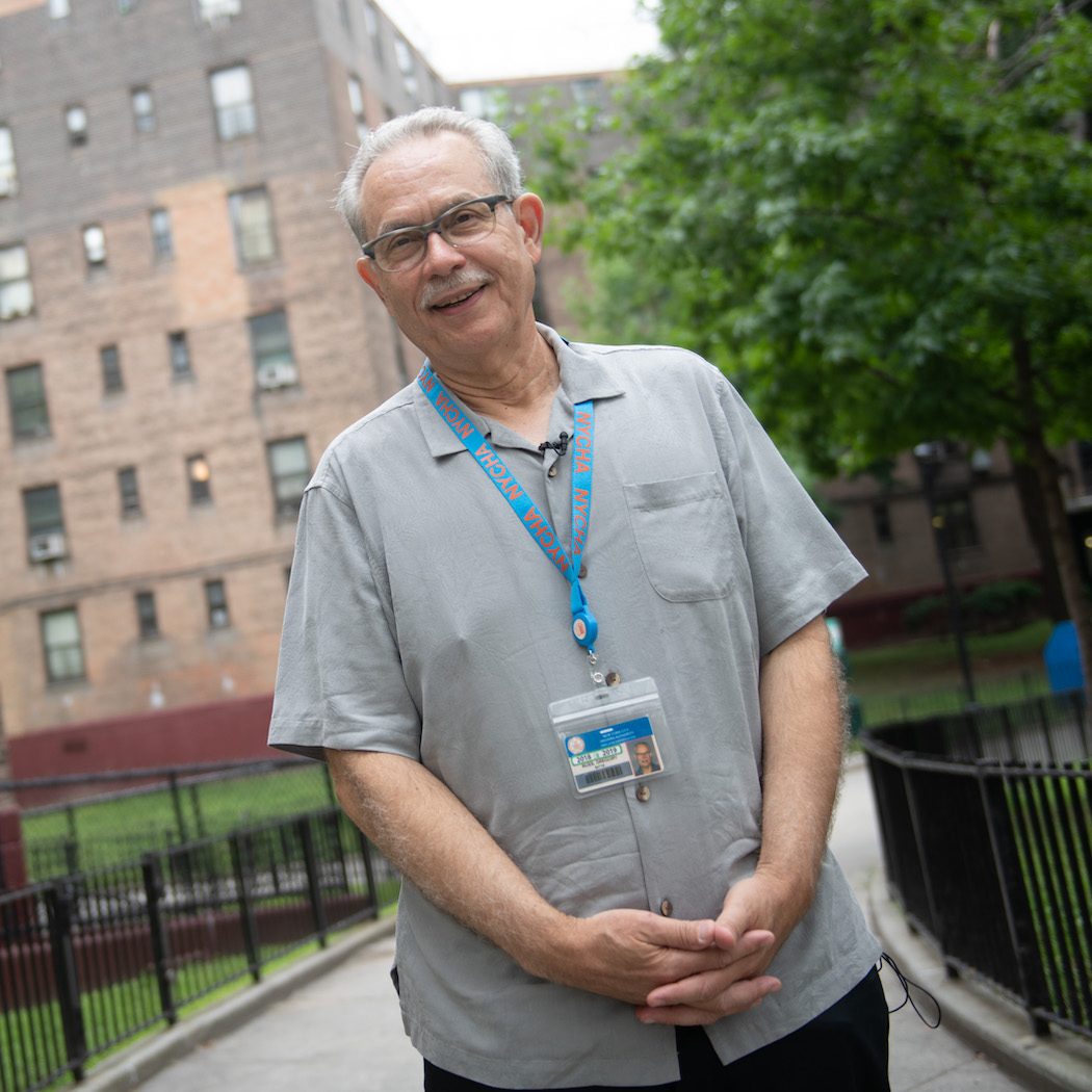 Chairman and CEO of the New York City Housing Authority Gregory Russ
