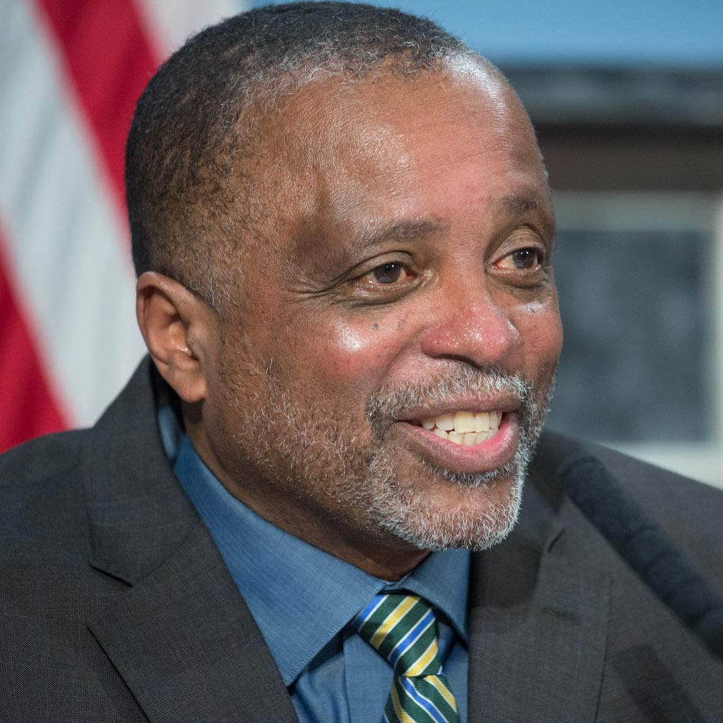 New York City Deputy Mayor for Strategic Policy Initiatives J. Phillip Thompson