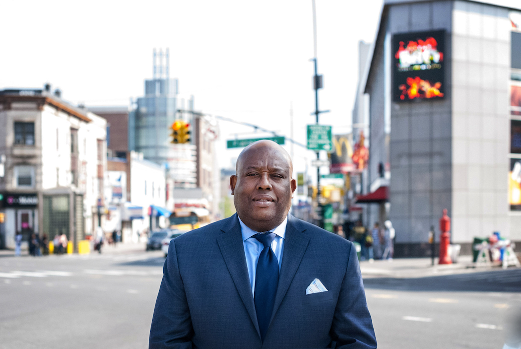 Leader of the Flatbush Nostrand Junction Bid, Kenneth Mbonu.