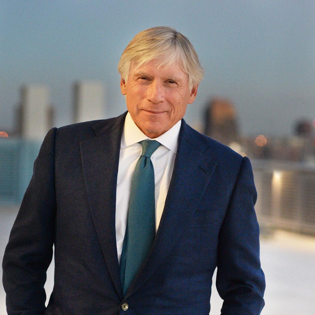 Lee Bollinger, President of Columbia University.