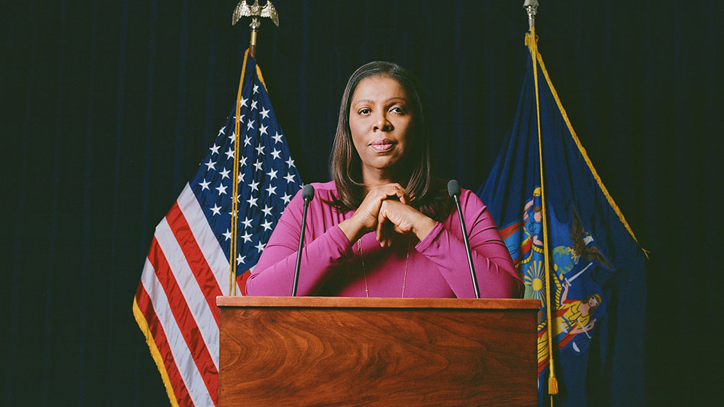 Attorney General, Letitia James has received a lot of attention for going after Donald Trump like she promised.