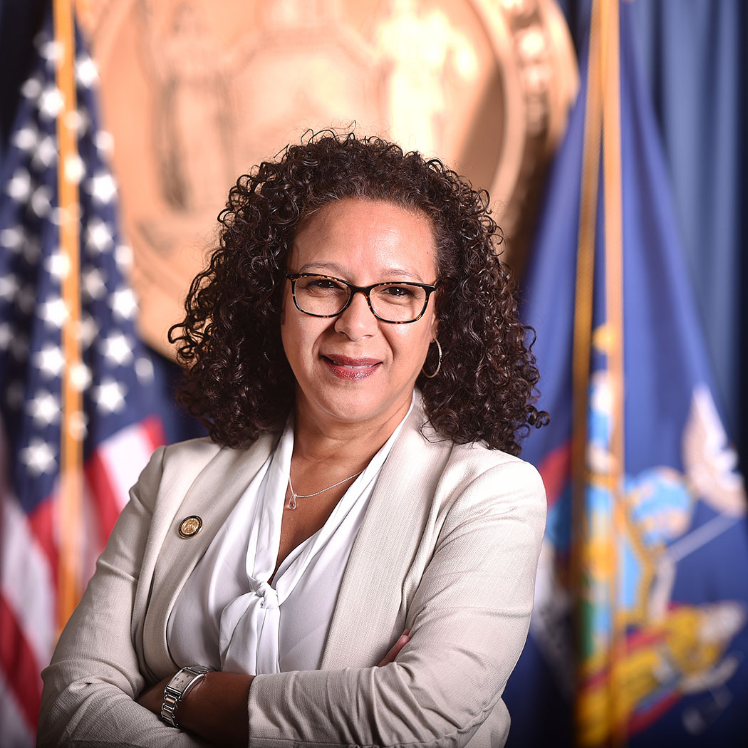 Lourdes Zapata, Chief Diversity Officer of Gov. Andrew Cuomo's Office.