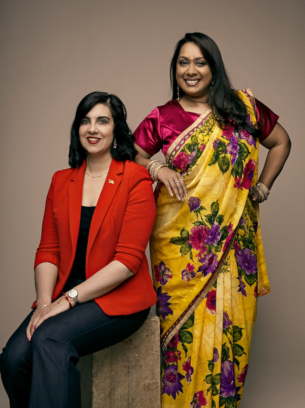 Nicole Malliotokis (left) and Bharati Kemraj (right)