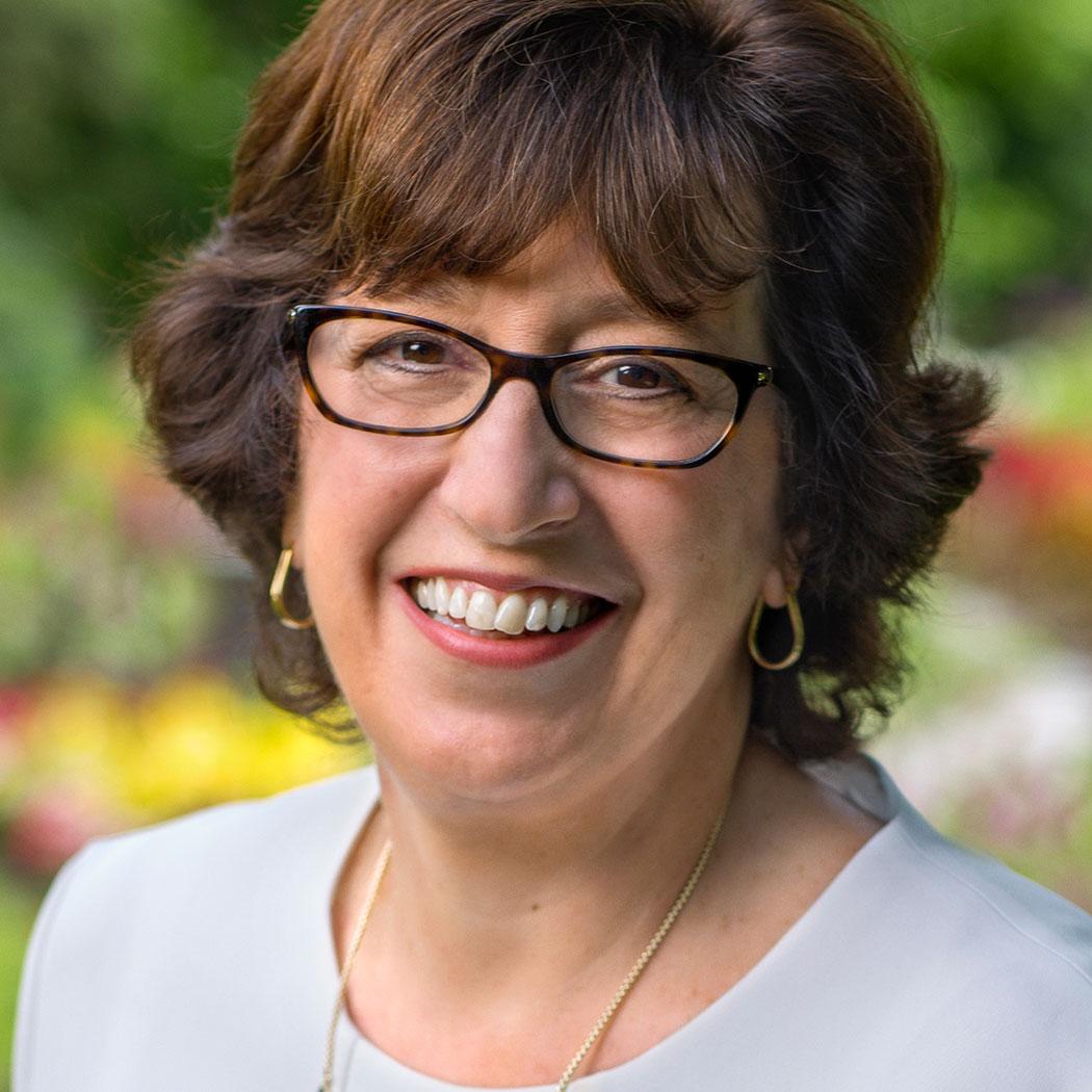 Martha Pollack, President of Cornell University.