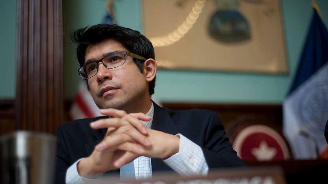 New York City Councilman Carlos Menchaca.