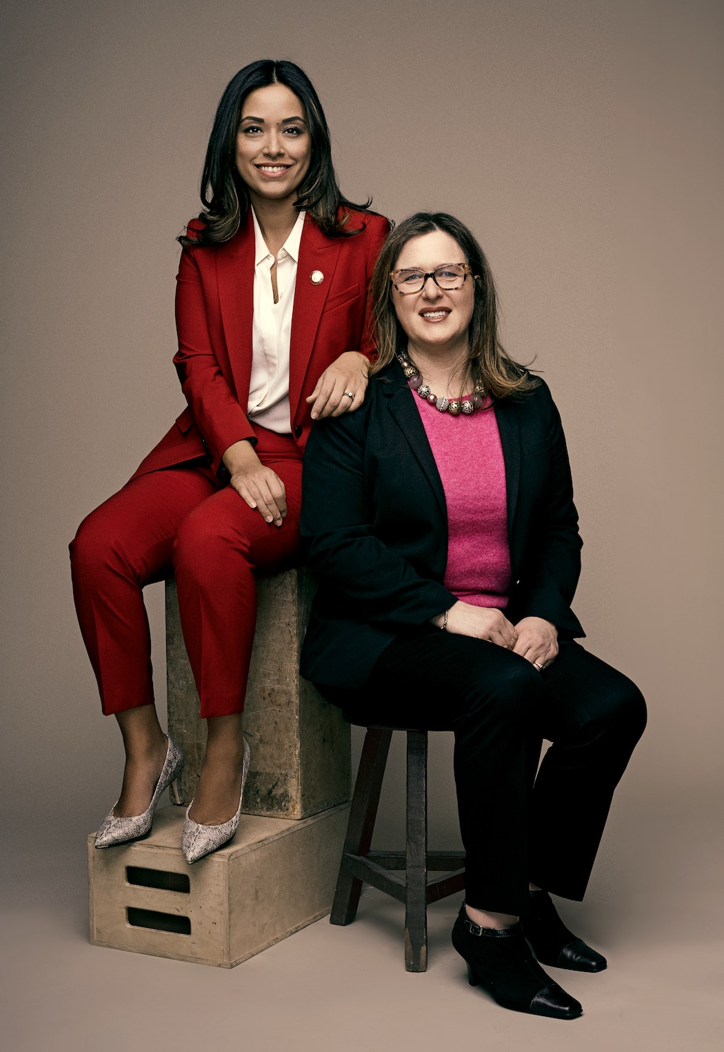 Carlina Rivera (left) and Beth Shapiro (right)