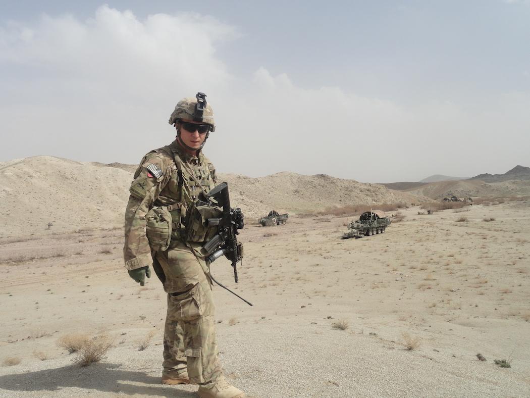 Rep. Max Rose in Afghanistan