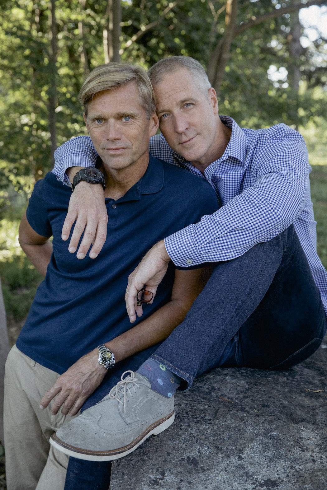 Maloney married his longtime partner, home designer Randy Florke, in 2014 and they have three children. Rep. Nancy Pelosi gave a toast at their wedding.