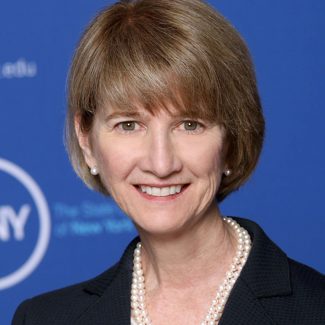 Kristina Johnson, Chancellor of the State University of New York.