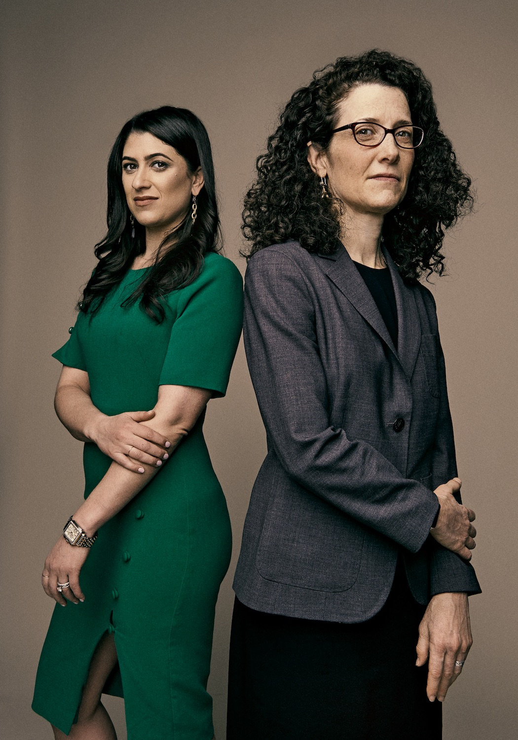 Danna DeBlasio (left) and Jacqueline Sherman (right)
