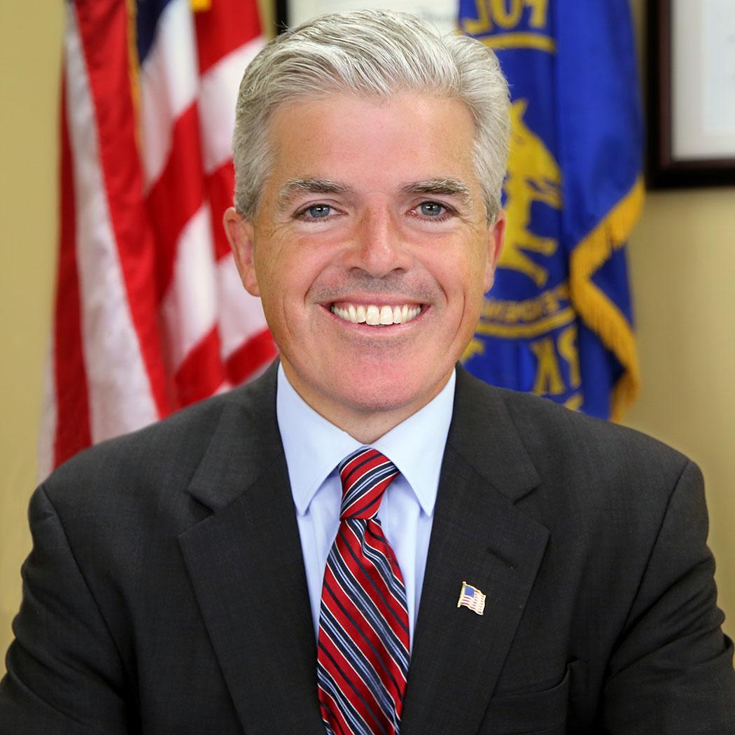 Steve Bellone, Suffolk County Executive.