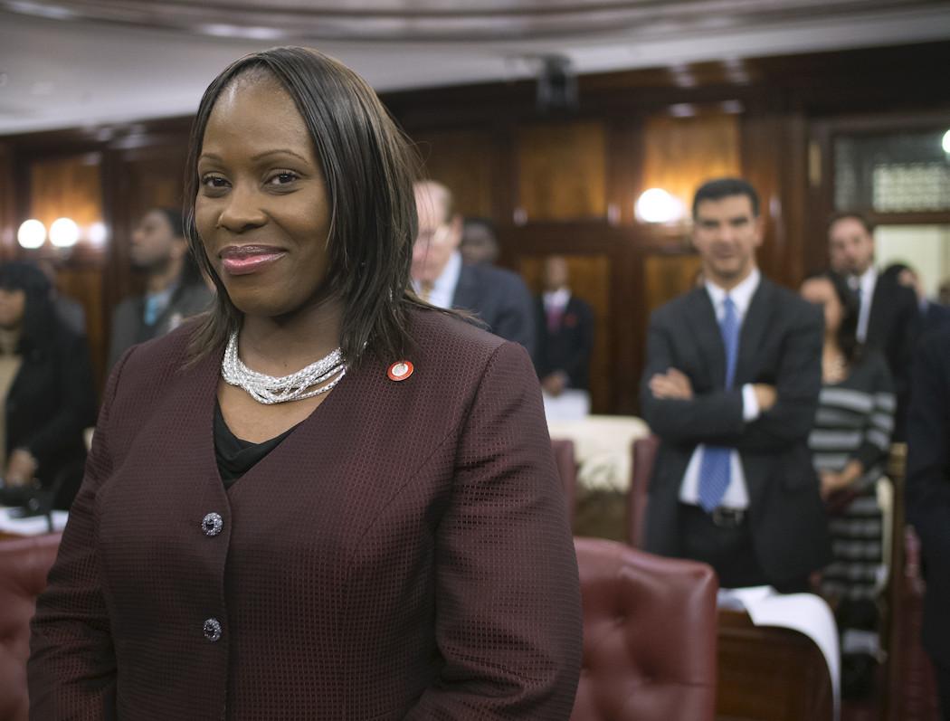New York City Councilwoman Vanessa Gibson