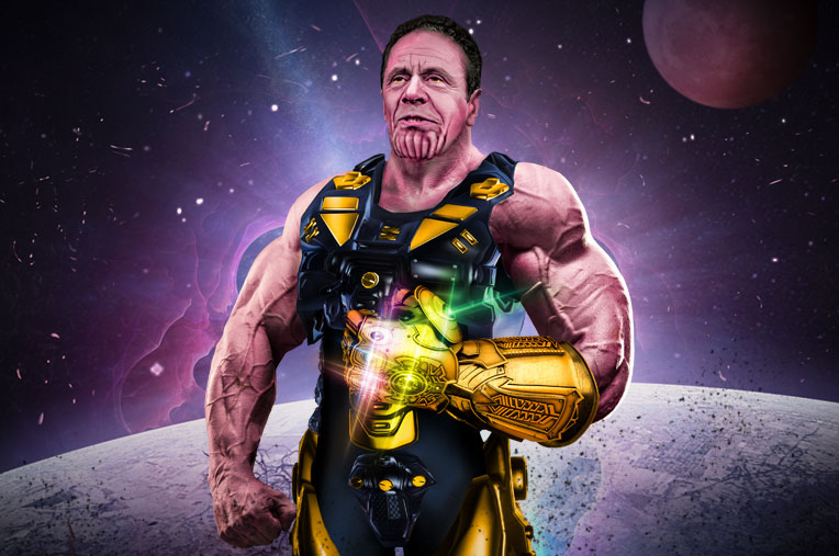 Cuomo as Thanos