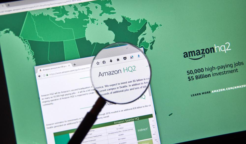 Amazon HQ2 will be Amazon's second headquarters in North America.