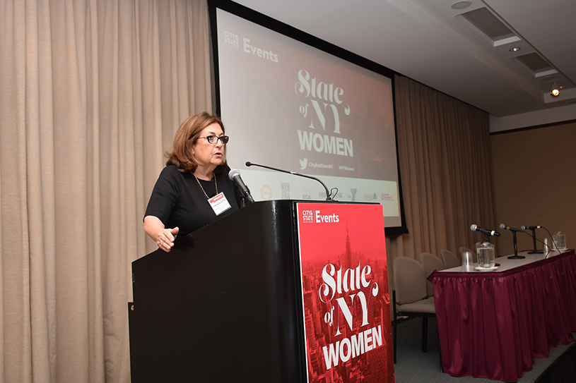 Lorraine Grillo at the State of NY Women forum