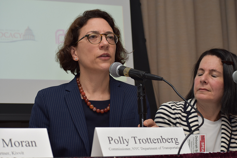 Patty Trottenberg at the State of NY Women forum