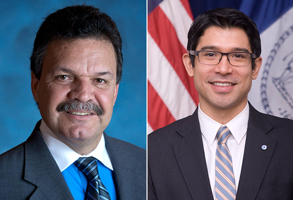 District 38 city council race Carlos Menchaca and Felix Ortiz