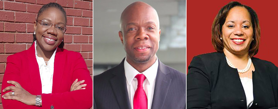 District 41 city council race Alicka Ampry-Samuel, Henry Butler and Deidre Olivera