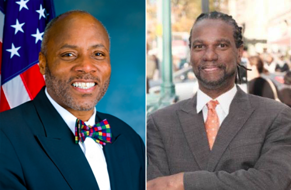 District 9 city council race Marvin Holland and Bill Perkins