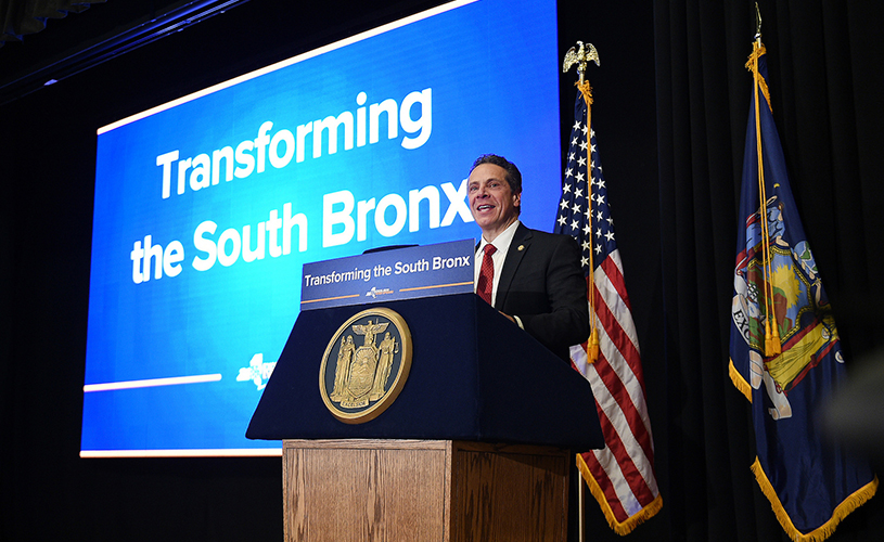 Andrew Cuomo sheridan expressway announcement