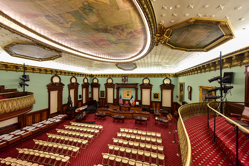New York City Council chambers