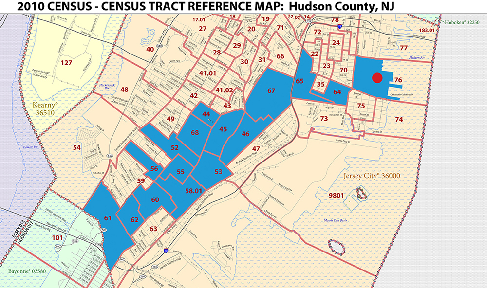 Bay Street New Jersey Census