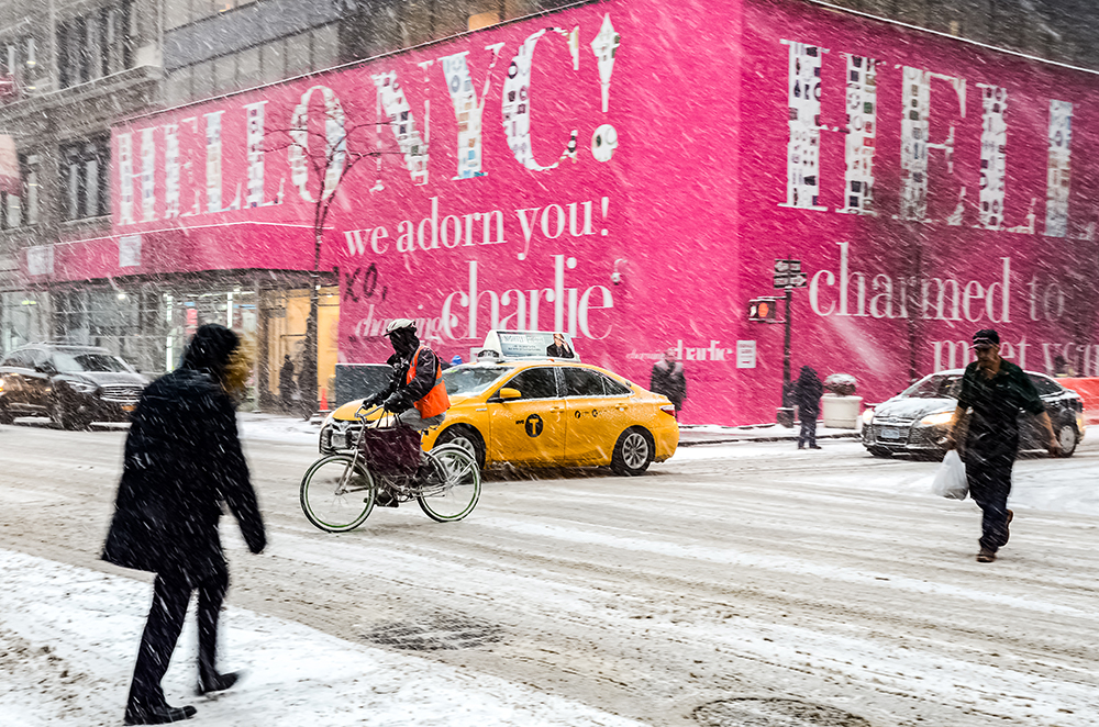 Blizzard in NYC