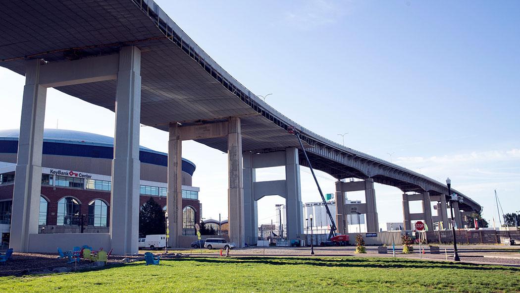 The Buffalo Skyway Corridor.