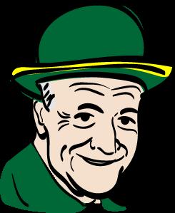 Se. Charles Schumer in Irish attire