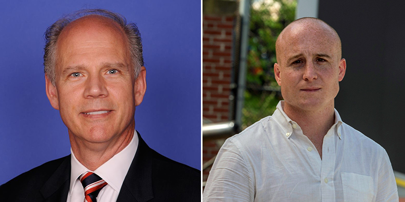 Dan Donovan and Max Rose
