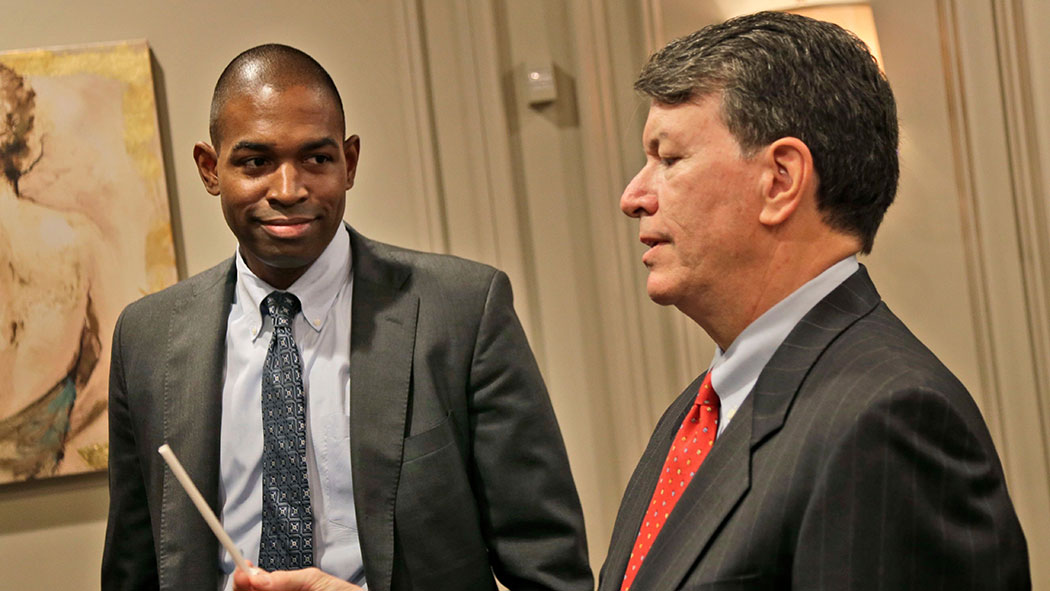 Rep. Antonio Delgado, left, defeated John Faso, right, in 2018, but will he hold on to his seat in a swing district?