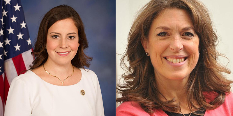 Elise Stefanik and Tedra Cobb