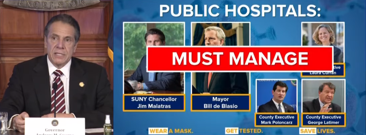 A slide from Governor Cuomo's Monday press conference.