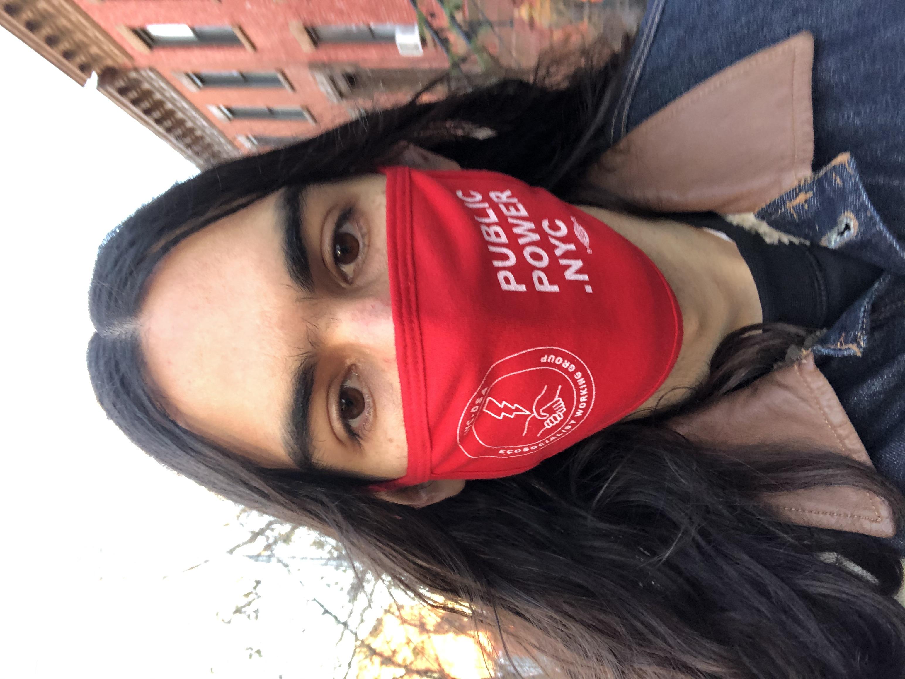 Gustavo Gordillo, Activist, Democratic Socialists of America