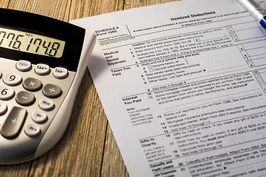 IRS Tax deductions